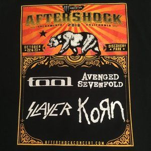 Other - Aftershock Concert T-Shirt: Slayer, Tool, Ghost XL